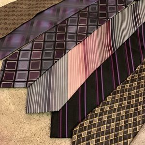 13 mens tie bundle Haggar Gregory Beane Claiborne